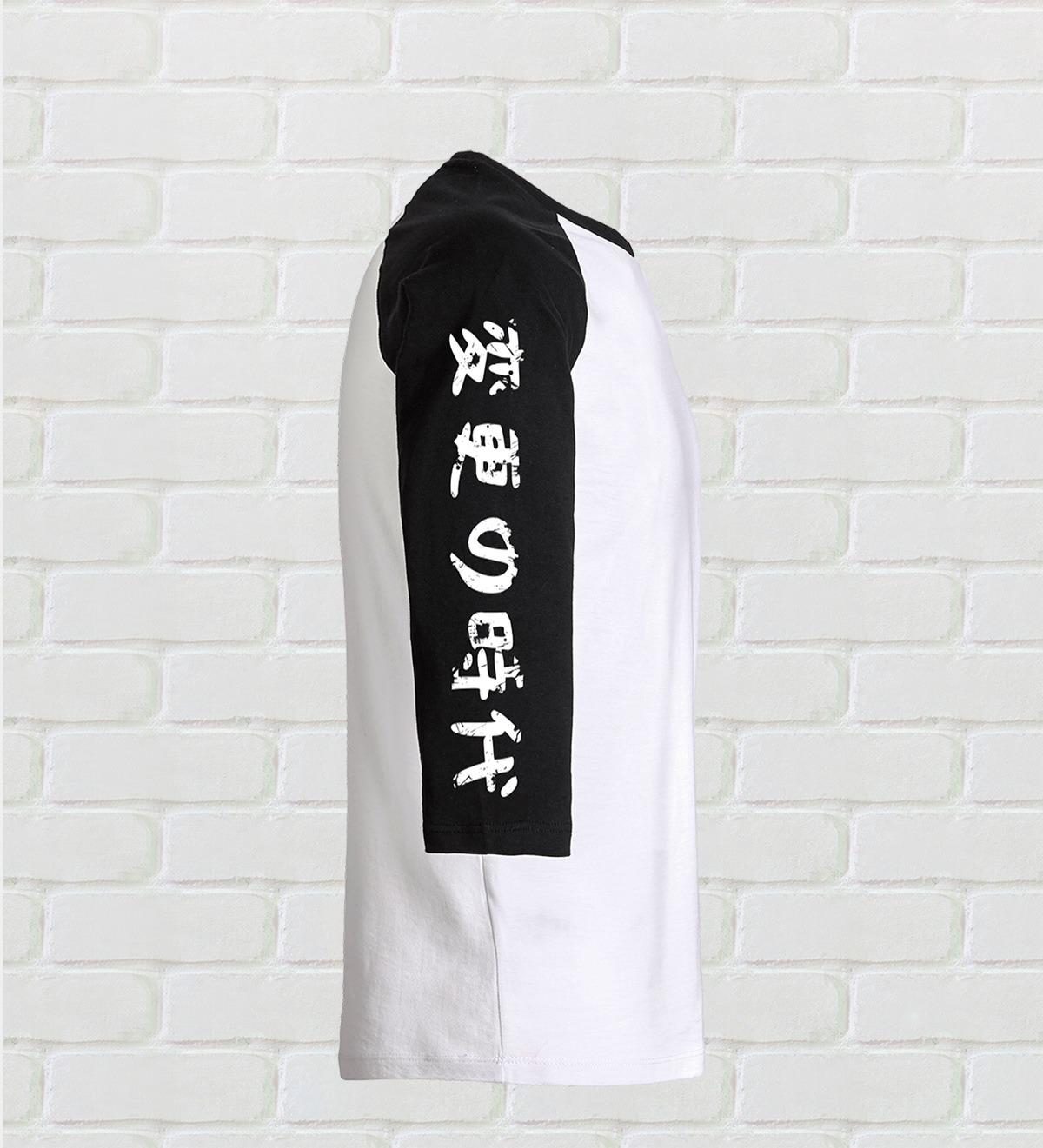 t-shirt manches 3/4
