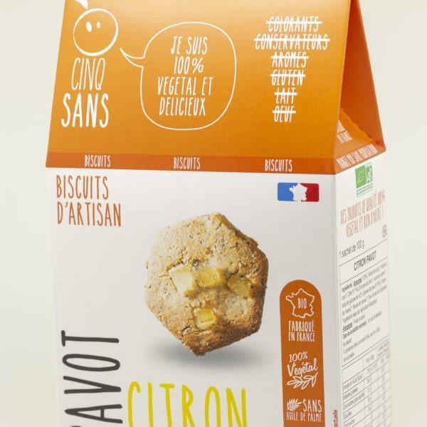 Biscuit citron pavot