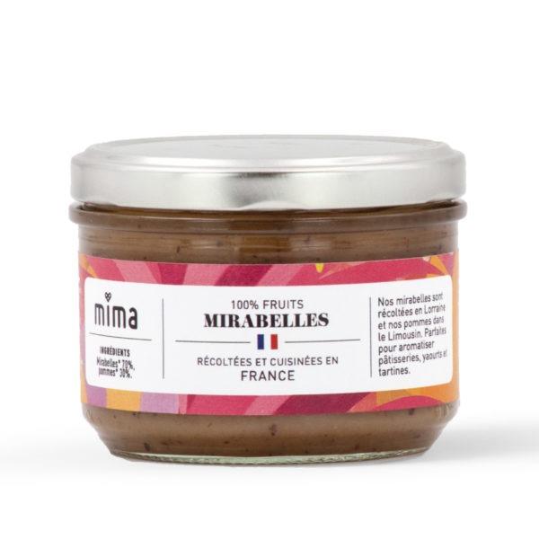 100% fruits mirabelles 220g