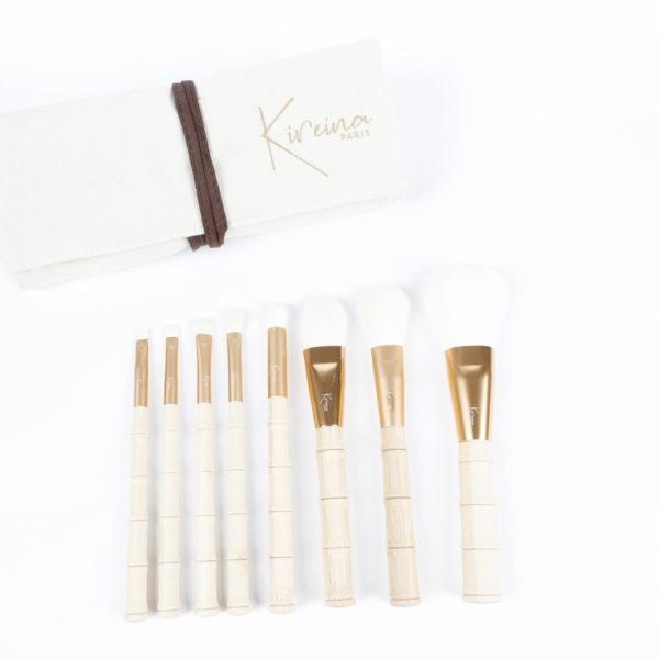 set complet de 8 pinceaux maquillages