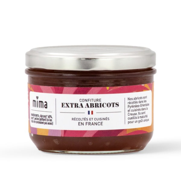 Confiture extra abricots 250g
