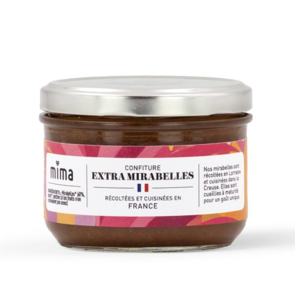 Confiture extra mirabelles 250 g