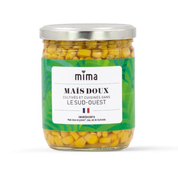 Mais doux cultivés et cuisinés en France